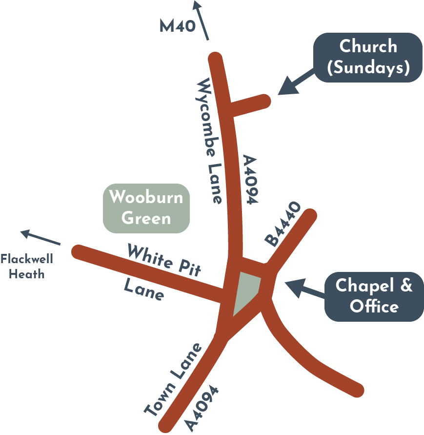 Map for The Community Church
