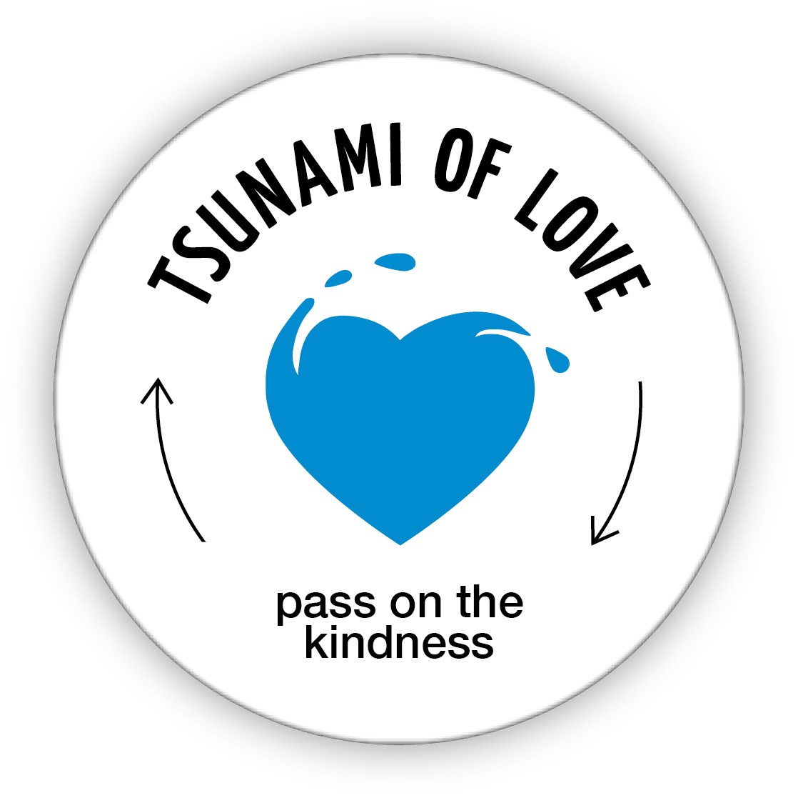 Tsunami of Love – Love your enemies