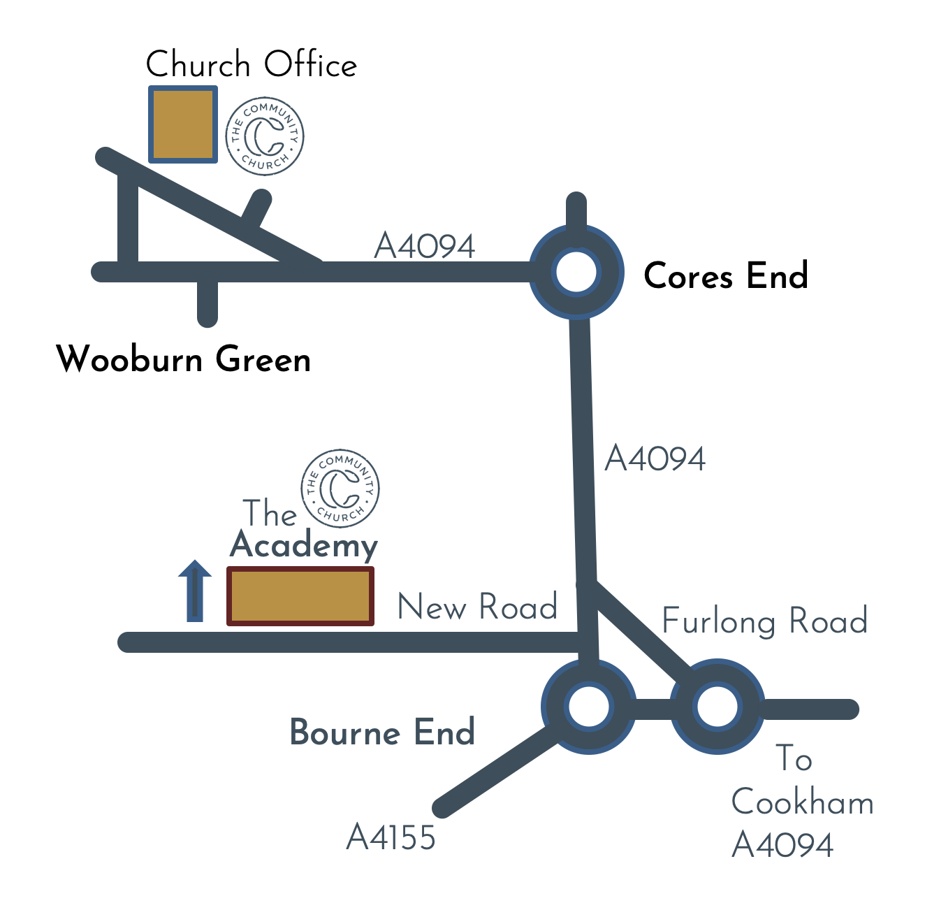 Wooburn Green map